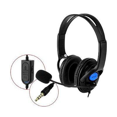 Headset Dex Com Microfone Pc Consoles Ps4 Xbox One P3 Df400