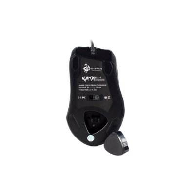 Mouse Gamer Hoopson Switch Gx-18 Rgb Com Pesos Adaptáveis