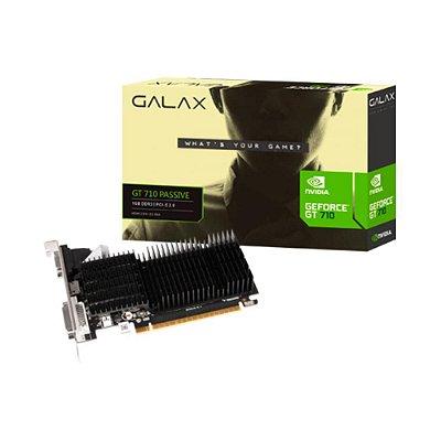 Placa De Vídeo Galax Nvidia Geforce Gt 710 1gb Ddr3