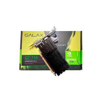 Placa De Vídeo Galax Nvidia Geforce Gt710 1G Af7101024d3l8v2