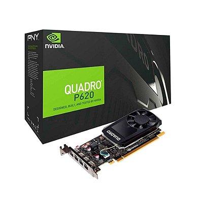 Placa De Video Nvidia Pny Quadro P620 2gb Ddr5 Vcqp620v2pb