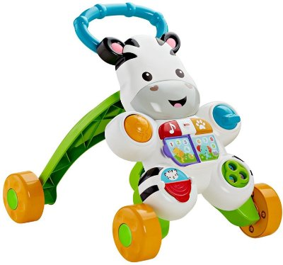 Andador Zebra - Fisher Price