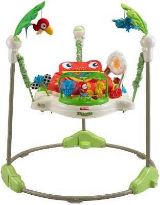 Jumperoo Rainforest Sapo da Fisher Price