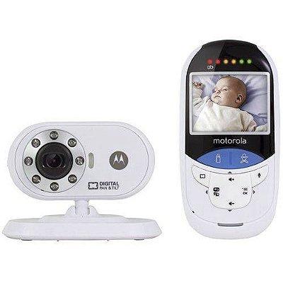 Babá Eletrônica Motorola Com Detector De Temperatura - Produto Alugado por Mamãe Parceira