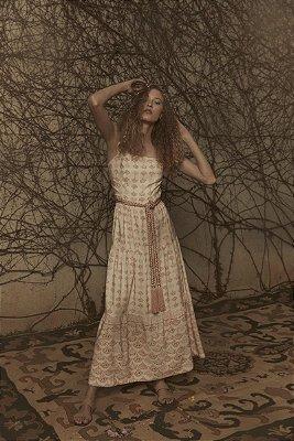 Mila Vestido Longo Woman