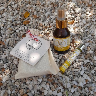 KIT SABONETE, ROLLON RELAX E SPRAY LAVANDA