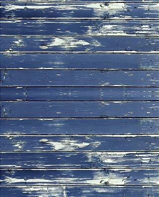 Fundo Fotografico - Madeira Azul (1,50 x 2,10 metros)