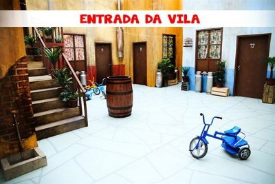 Fundo Fotografico - ENTRADA DA VILA (1,50 x 2,10 metros)