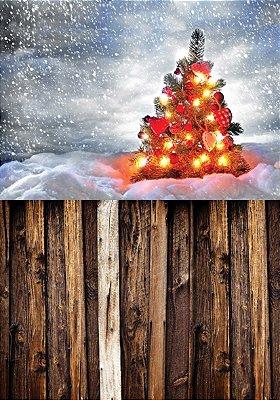 Fundo fotográfico - Árvore de Natal 02 (1,40 x 2,10 metros)