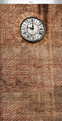 Wall Clock ( 1,60 x 3,10 metros)