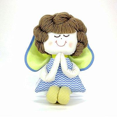 Boneco de Pano - Anjinho Coleção Céu