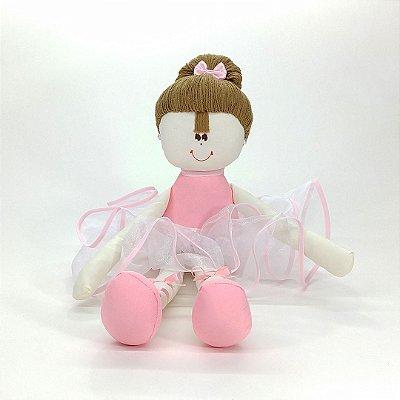 Bailarina Grande Rosa Lisa