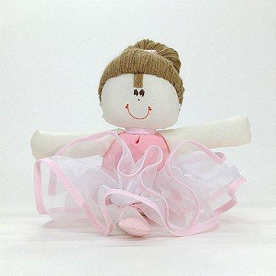 Bailarina Pequena Rosa lisa