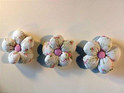 Kit 06 Peças: Flores Miniatura