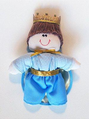Kit 03 Peças: Príncipe Mini Ana Edição Limitada Azul