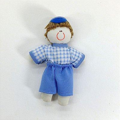 Kit 30 Peças: Bonecos Dinho Azul Estampas Variadas