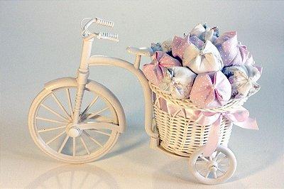 Bicicleta Provençal. Decorada com Tulipas!