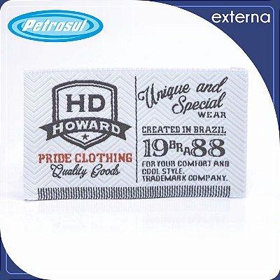 Etiquetas Bordada - Externa