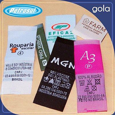 Etiqueta bordada - Gola