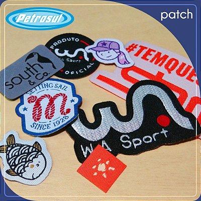 Etiqueta bordada - Patch