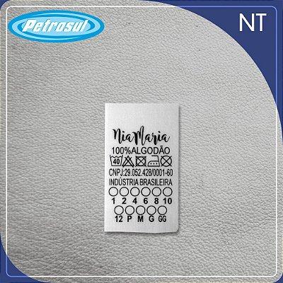 Etiquetas de NT (não-tecido)