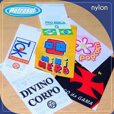 Etiqueta - Nylon Emborrachado