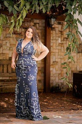 Vestido de festa longo com tule bordado, madrinha de casamento, formatura, aniversário