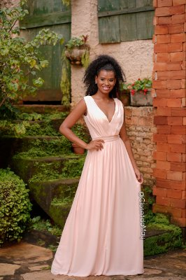 Vestido longo duas formas da saia, festa de casamento, noivas, madrinhas