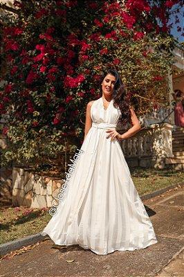 vestido de noiva longo, tamanho unico, para casamento, batizado, bodas, pre wedding