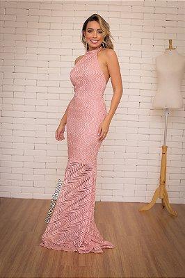 vestido de festa longo frente unica, para madrinhas, convidadas, aniversariante