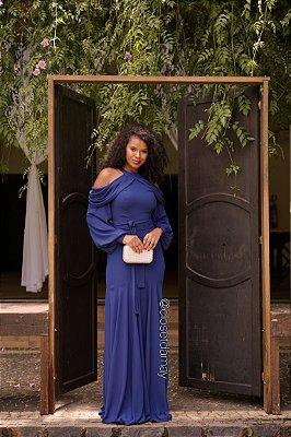 vestido de festa longo, mangas longas, faixa fixa, para madrinhas de casamento, convidadas