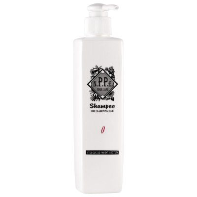 NPPE No. 0 Shampoo for Clarifying Hair (Limpeza Profunda) 250mL