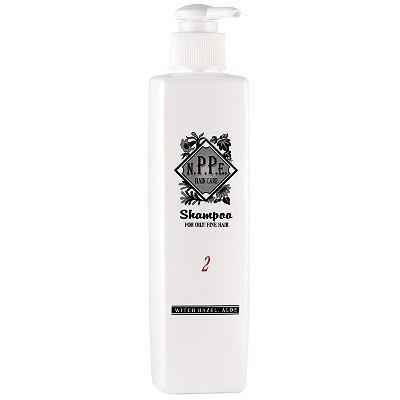 NPPE No.2 Shampoo for Oily/Fine Hair (anti-oleosidade) 250mL