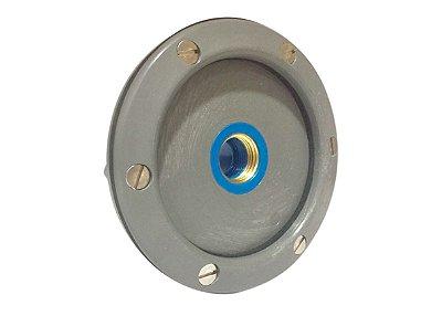 W - Adaptador para Nicho e luminária de piscina com rosca de 1/2 Polegada - 125mm - Para Piscina de Alvenaria, vinil e demais