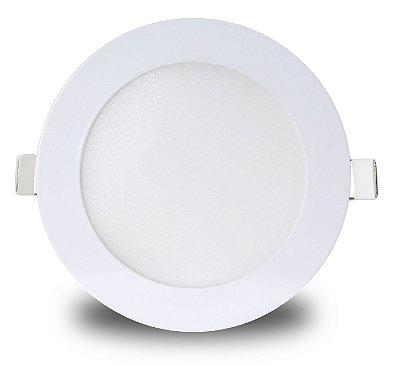 Painel LED de embutir 18w | Bivolt | Redondo | Diâmetro 22,5cm