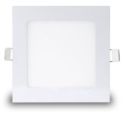 Painel LED de embutir 18w | Bivolt | Quadrado | 22,5x22,5cm