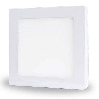 Luminária Paflon LED de Sobrepor - 24w - Bivolt - Quadrado - 30x30 cm