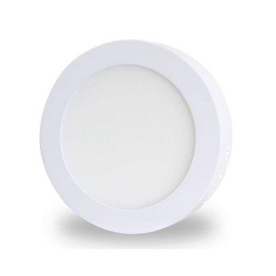 Painel LED de Sobrepor 18w | Bivolt | Redondo | Diâmetro 22,5cm