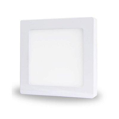 Painel LED de Sobrepor 18w | Bivolt | Quadrado | 22,5x22,5 cm