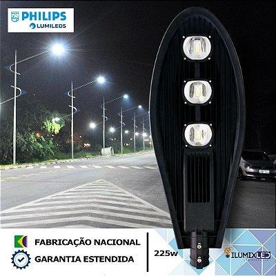 Luminária LED para Poste 225w | 27.000 Lúmens | LEDs PHILIPS | Resistente à Água IP66