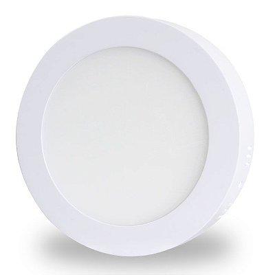 Luminária LED de Sobrepor - 24w - Bivolt - Redondo 30cm - Branco Frio ou Quente
