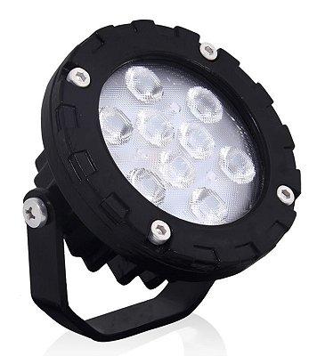 SPOT LED - 10W  | Bivolt | Foco: 45º | IP65 | Uso Externo | 1.200 Lúmens