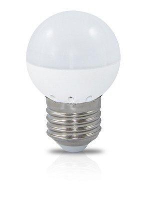 LÂMPADA LED BOLINHA 3W | Bivolt  | IP20 | Uso Interno | 360 Lúmens