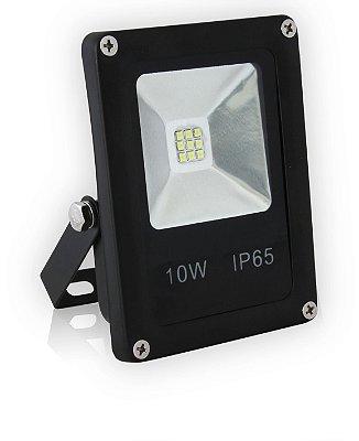 REFLETOR LED 10W  | BIVOLT  | Resistente à Água IP65 | 1.200 Lúmens | LED PHILIPS