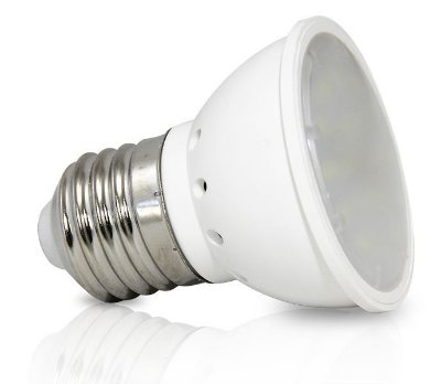 Lâmpada dicróica 4w - Base E27 | Bivolt  |  Foco de luz 120º | Uso Interno
