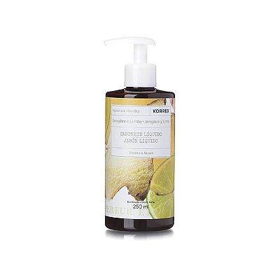 Sabonete Líquido Gengibre e Limão 250ml - Korres