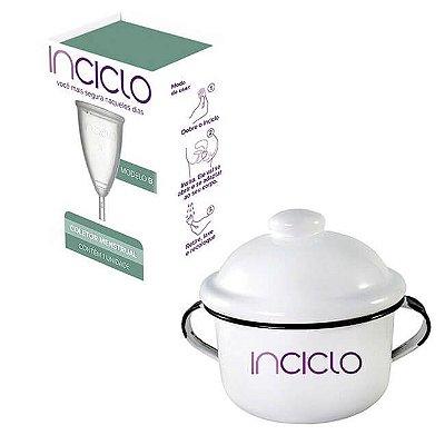 COMBO - Coletor Menstrual Inciclo - Tamanho B + Panelinha Inciclo
