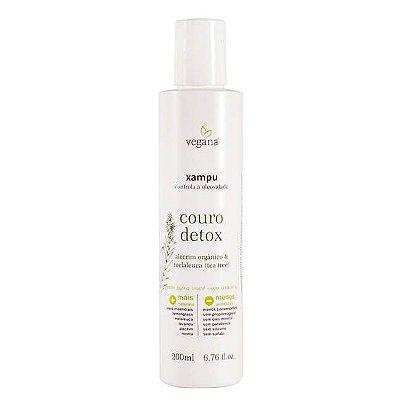 Vegana Shampoo Couro Detox Tea Tree 200mL - WNF