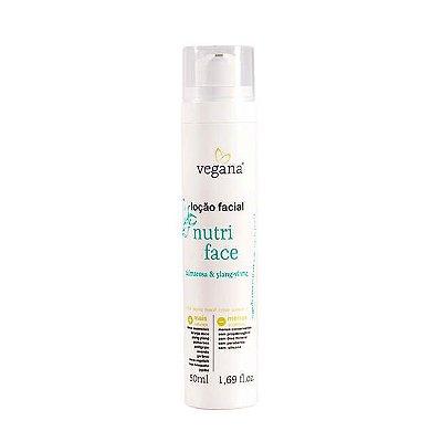 Vegana Loção Facial Nutri Face 50mL - WNF