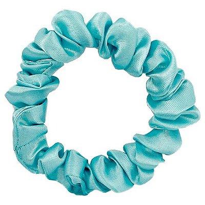 Xuxinha de Cetim Slim Azul Piscina - Turban